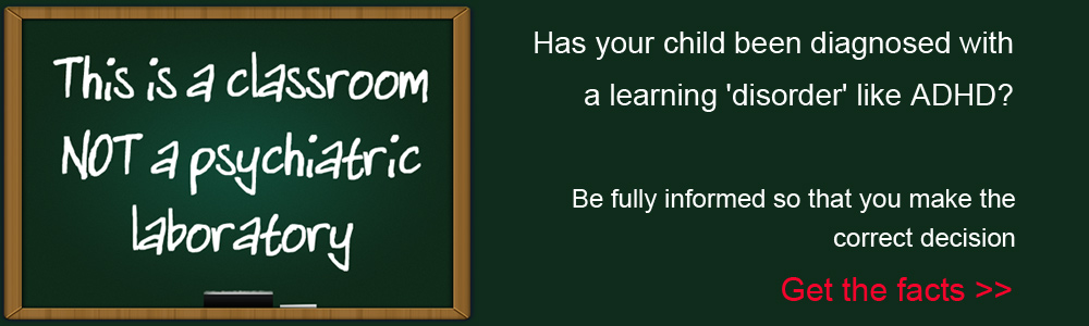 Has your child been diagnosed with a learning