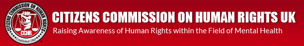 Citizens Commission on Human Rights UK Logo